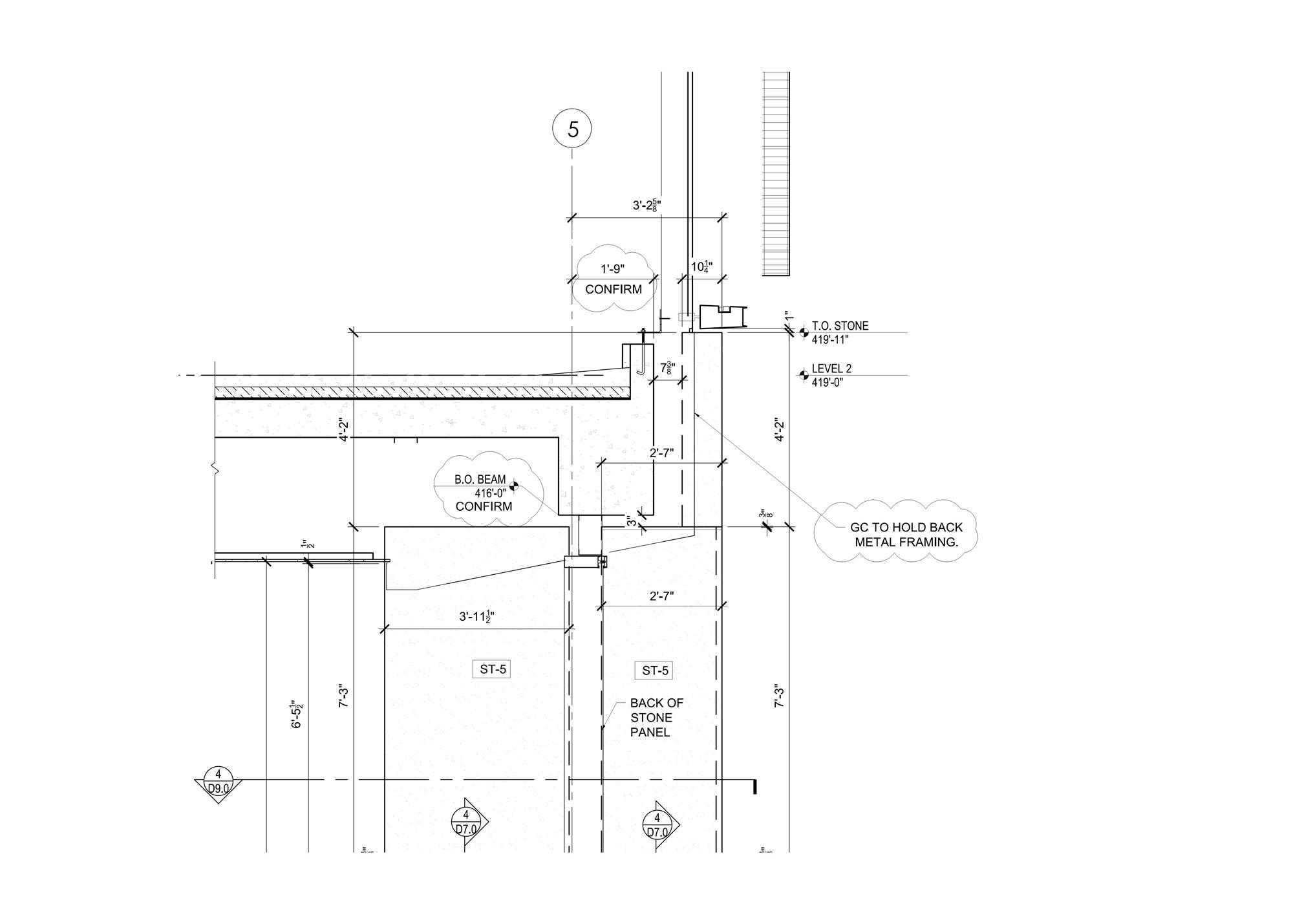 shop drawing detail