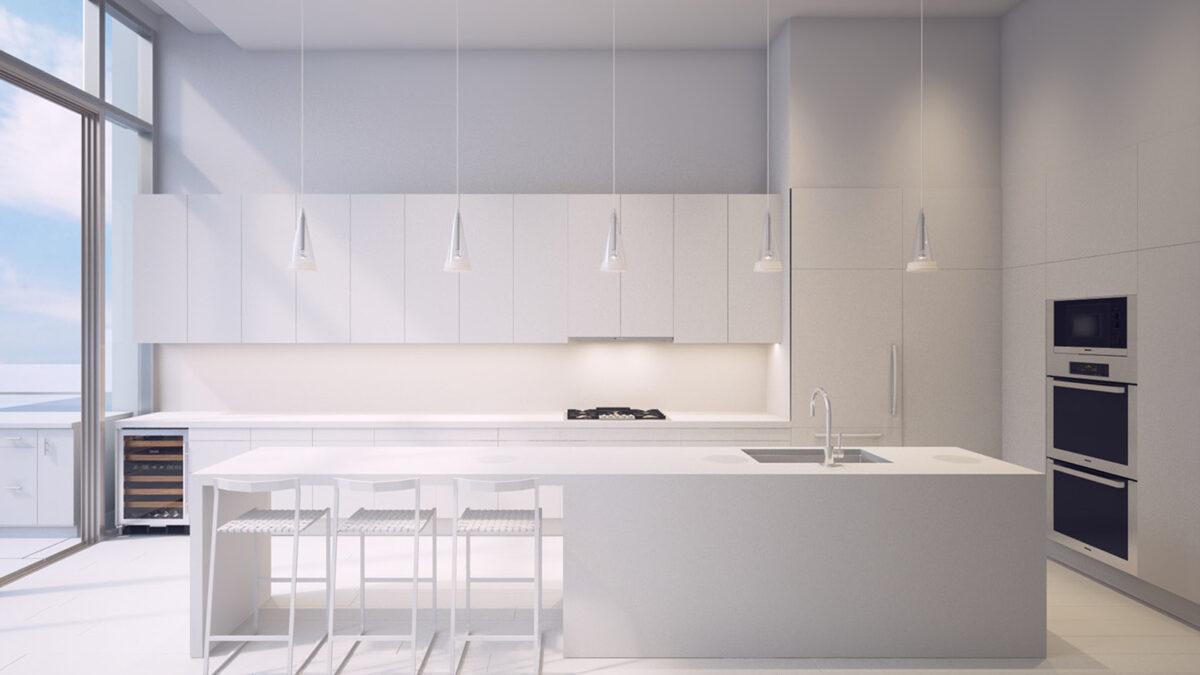 custom kitchen counter